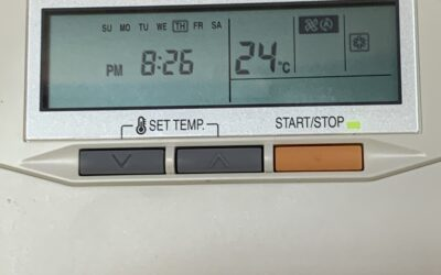 The best settings during the summer on the Costa del Sol for your air conditioning units.